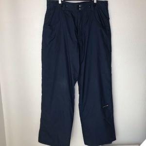 QUIKSILVER Snowboard/Ski Pants.  Size M.